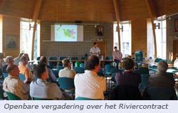 foto vergadering Riviercontract