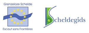 logo GS-ESF en logo Scheldegids